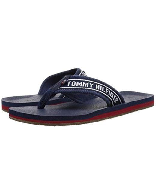 32407e401 Lyst - Tommy Hilfiger Doland Sandal in Blue - Save 36%