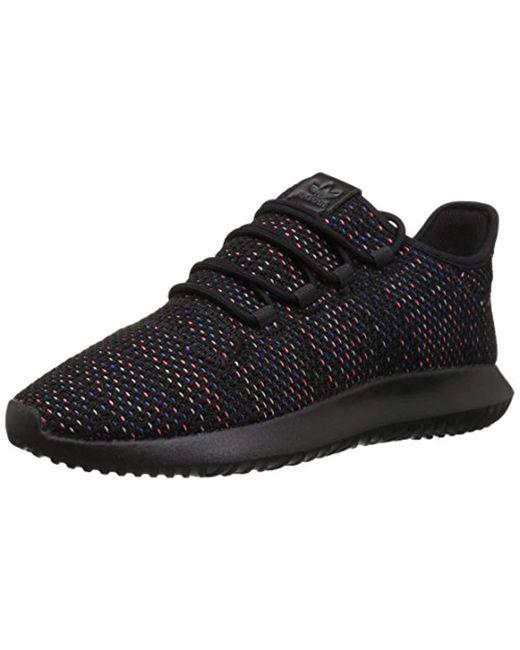 best loved 986c7 dbe85 Adidas Originals - Tubular Shadow Ck Fashion Sneakers Running Shoe,  Blacksolar Red ...