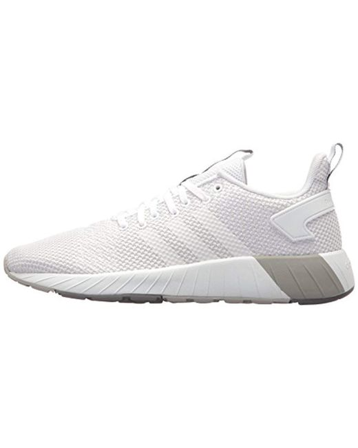 huge discount 2438b e862f ... Adidas - White Questar Byd Running Shoe for Men - Lyst ...