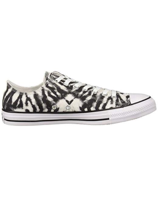 093d2551ee32 ... Converse - Black Chuck Taylor All Star Tie Dye Low Top Sneaker for Men  - Lyst ...