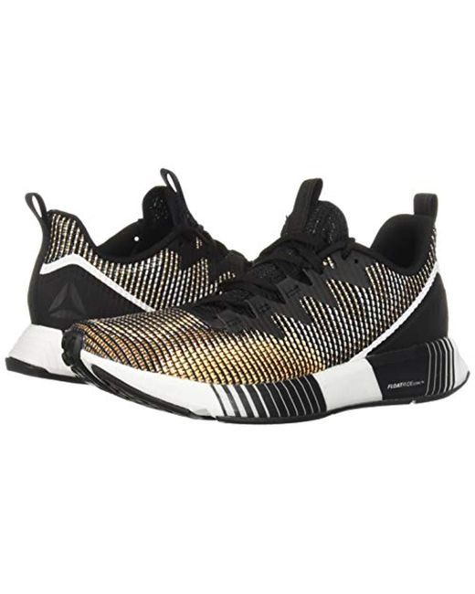 3a79553b239 Lyst - Reebok Fusion Flexweave Sneaker in Black - Save 15%