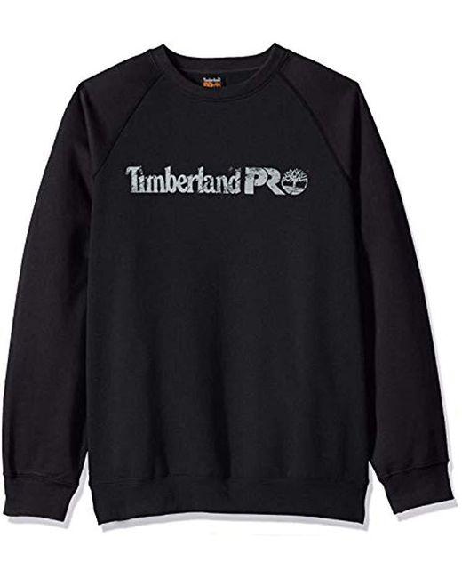 Timberland - Honcho Sport Crew (jet Black) Men's Long Sleeve Pullover for Men - Lyst