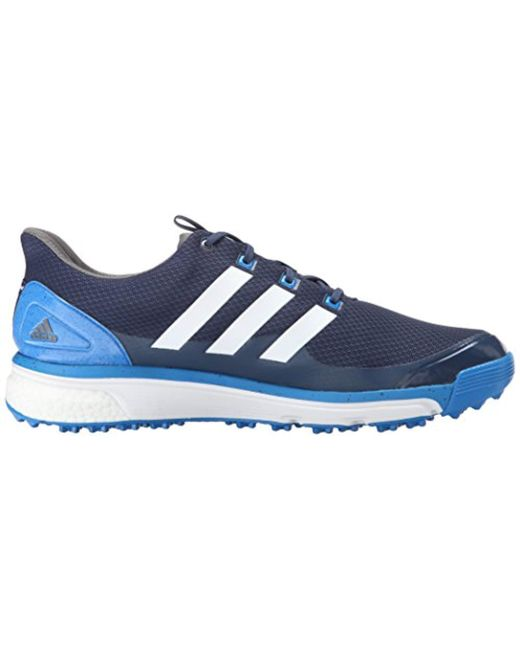 info for 9793f 9e3bb ... Adidas - Blue Adipower S Boost 2 Golf Cleated for Men - Lyst ...