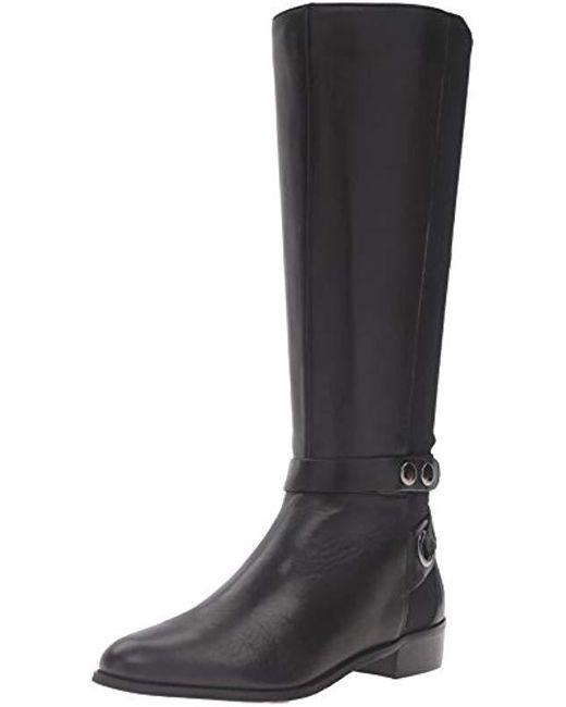 Tahari - Black Ta-rydell Riding Boot - Lyst