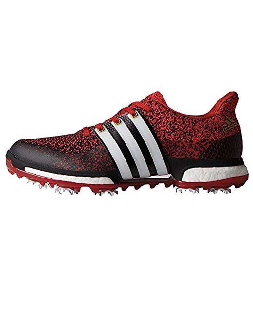 60252098a512 Lyst - adidas Tour360 Prime Boost Golf Shoe in Red for Men - Save ...