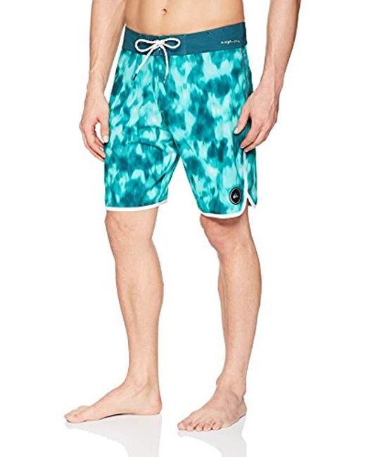 e4792be523108 Quiksilver - Blue Highline Recon 19 Boardshort Swim Trunk for Men - Lyst ...