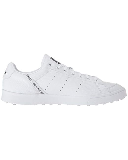 1aa1500d5eb2 Lyst - adidas Adicross Classic Golf Shoe in White for Men - Save 9%