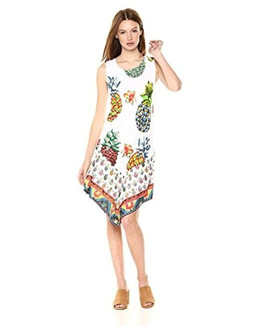 Desigual Multicolor Rouses Sleeveless Dress