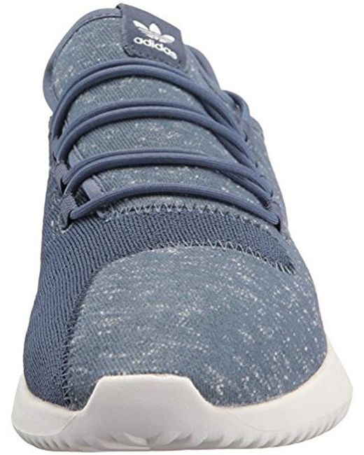 separation shoes 430bf 79a8d ... Adidas Originals - Blue Tubular Shadow Running Shoe for Men - Lyst ...