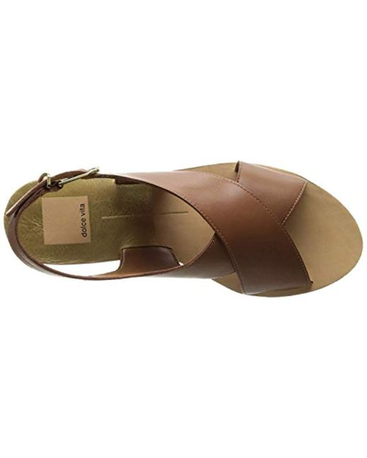 aebb8ca8d56 ... Dolce Vita - Brown Maize Platform Sandal - Lyst ...