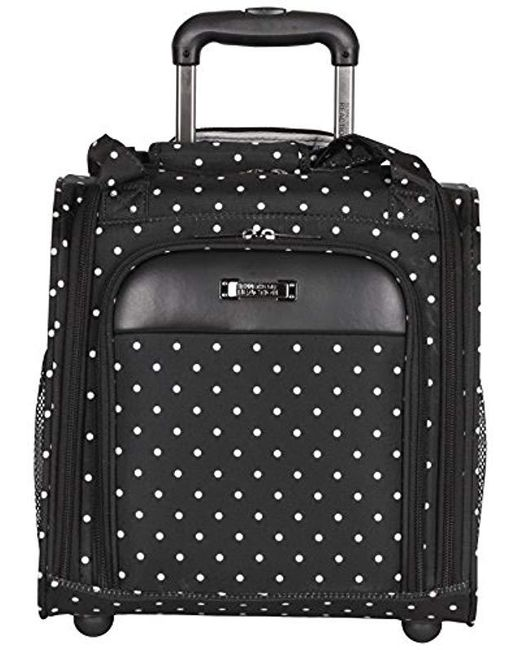 Kenneth Cole Reaction - Black Dot Matrix Wheeled Underseater/carry-on - Lyst