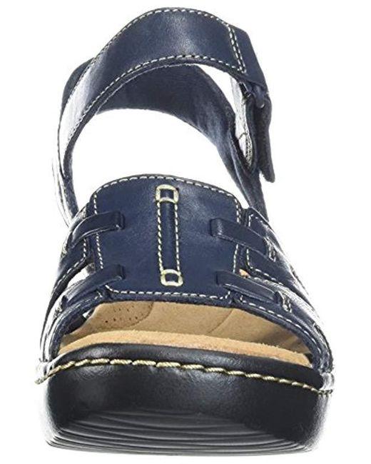 901403e94957 ... Clarks - Blue Delana Nila Platform - Lyst ...