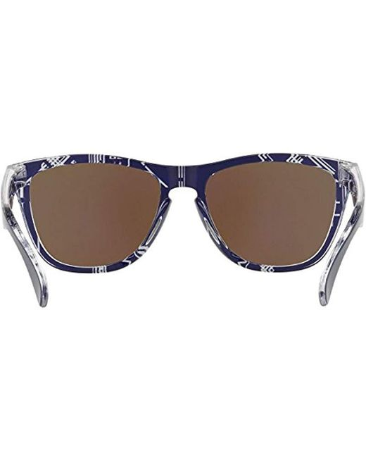 297ff115c01 ... Oakley - Blue Frogskins 009013 Wayfarer Sunglasses for Men - Lyst