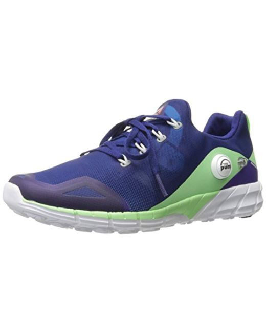 3d9b140e52b3e Reebok Zpump Fusion 2.0 Running Shoe in Blue - Save 53% - Lyst