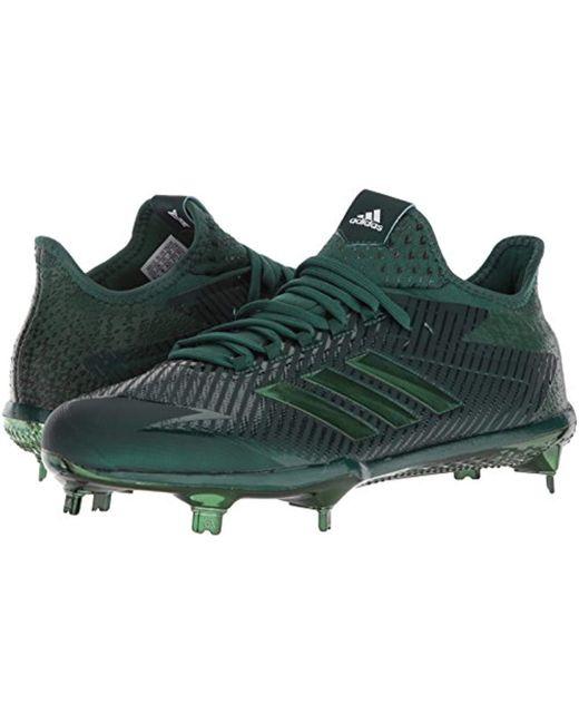 buy popular 80881 ee48b ... Adidas - Green Performance Adizero Afterburner 4 for Men - Lyst ...