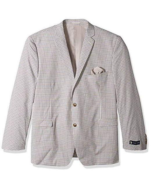 U.S. POLO ASSN. - Multicolor Big And Tall Fancy Cotton Sport Coat for Men  ... 38fabb267e8
