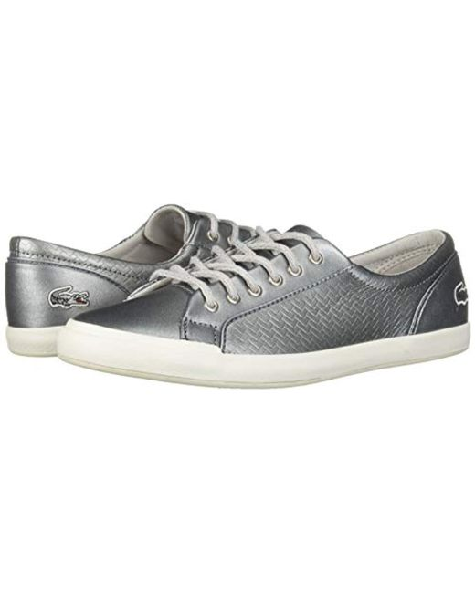 ae8f902bc ... Lacoste - Metallic Lancelle Sneaker - Lyst ...