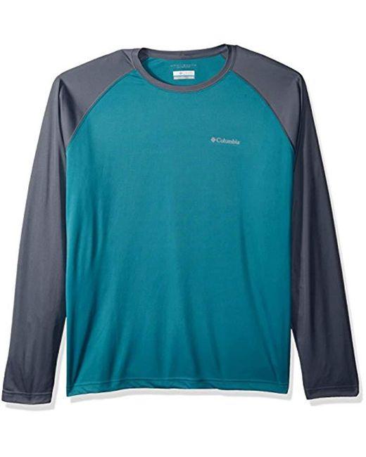 Columbia - Blue Sunset Stream Long Sleeve Shirt for Men - Lyst