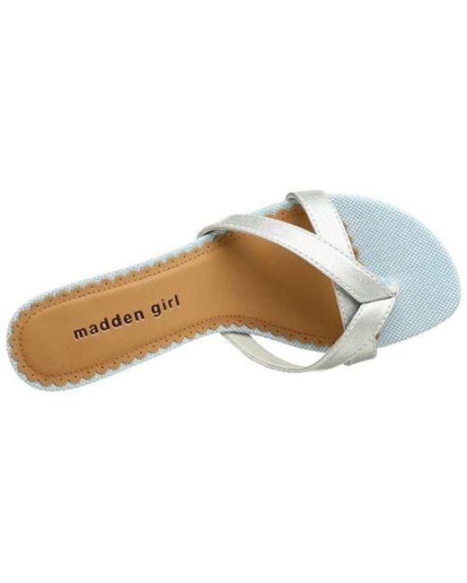 7c02a032397 Lyst - Madden Girl Brisk Sandal in Black