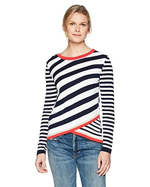 Desigual Blue Saligna Pullover Sweater
