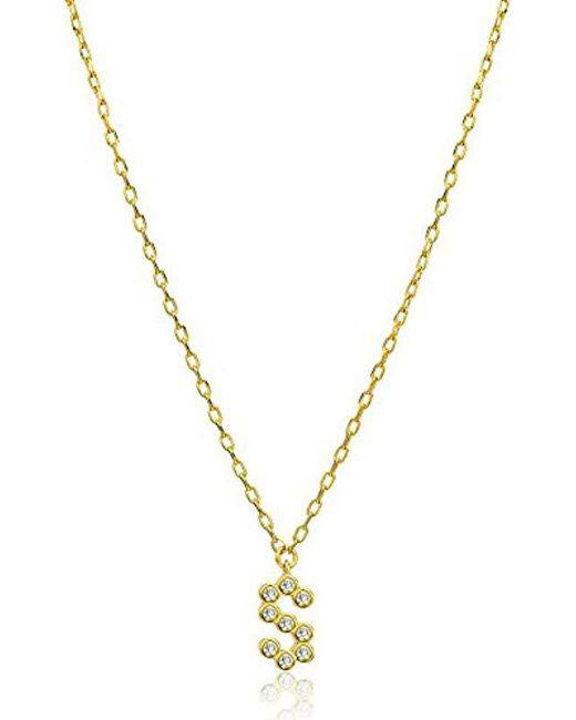 Kate Spade - Metallic One In A Million Stone S Pendant Necklace - Lyst
