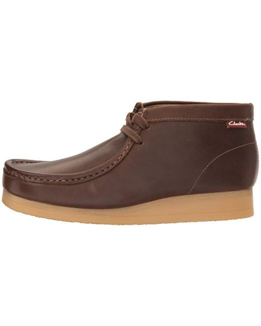 489ee0d18787a8 ... Clarks - Brown Stinson Hi Chukka Boot