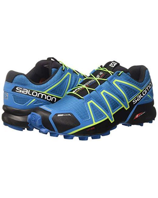 6bc73375b2065 Men's Blue Speedcross 4 Cs Trail Runner