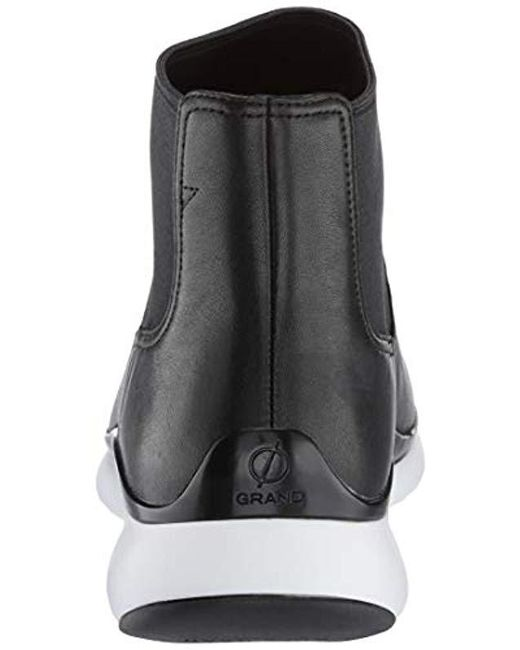 2de7a6dcda5a8 Cole Haan Oswego 2 Eye Lace-up Boot in Black for Men - Lyst