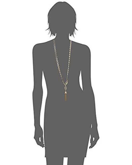 "Ivanka Trump - Metallic Classics Gold-tone 36"" Pendant Necklace, 0 - Lyst"