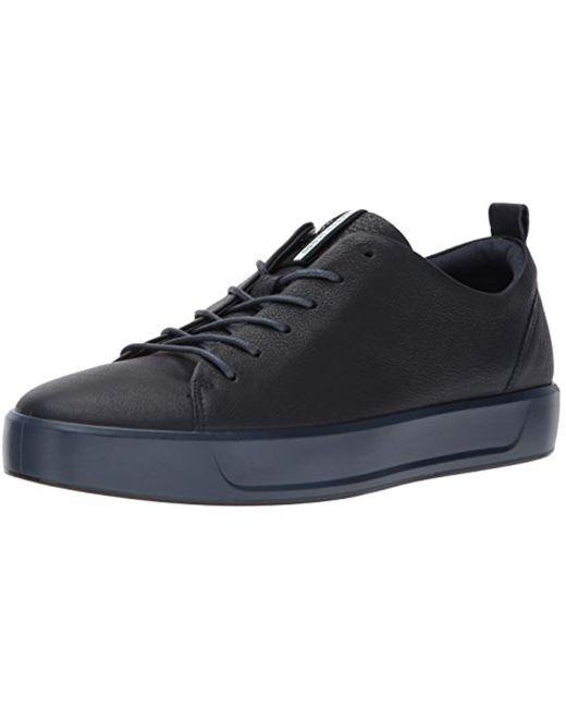 Ecco - Black Soft 8 Tie Fashion Sneaker for Men - Lyst