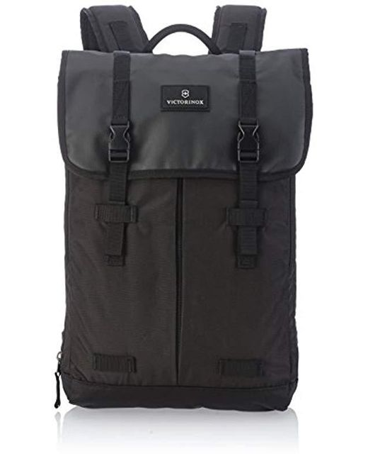 a790652f19e6 Victorinox - Black Altmont 3.0 Flapover Laptop Backpack for Men - Lyst ...