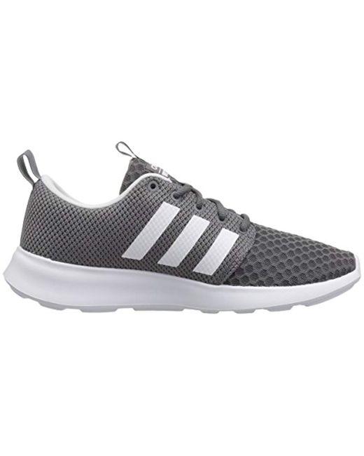 493e27c15aa5b ... Adidas - Gray Cf Swift Racer Sneaker for Men - Lyst ...