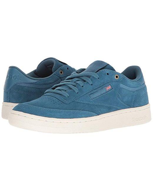 ae996c0db2efa Lyst - Reebok Club C 85 Mcc Sneaker in Blue for Men - Save 46%