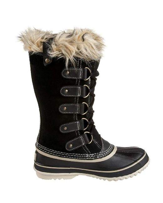 da01301ac17 Lyst - Sorel Joan Of Arctic Boot in Black - Save 47%