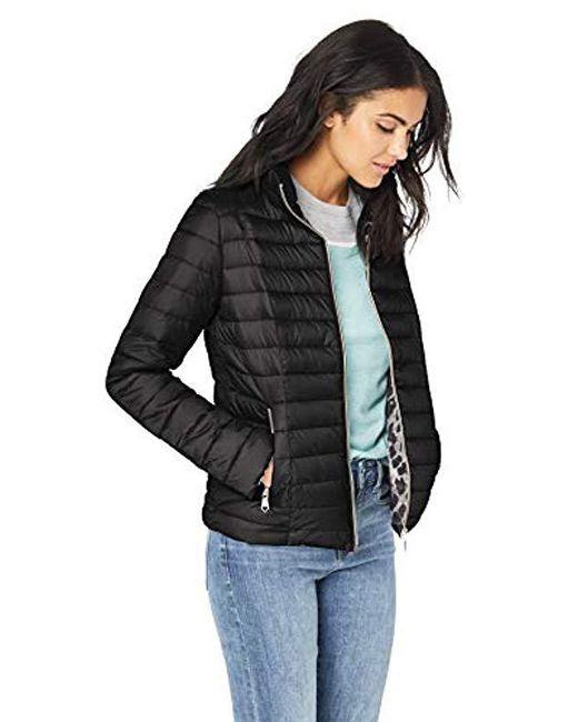 Nanette Lepore - Black Puffer Jacket, - Lyst