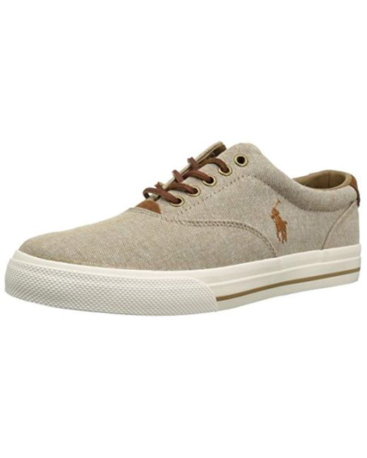 Polo Ralph Lauren - Natural Vaughn Sneaker for Men - Lyst