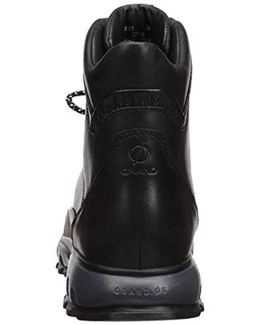 ... Cole Haan - Black Zerogrand Explore All Terrain Hiker Waterproof Hiking  Boot for Men - Lyst ... eebc818d0