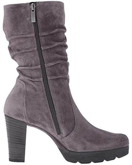 c6d8e4fe2c9a Lyst - Paul Green Kyle Slouch Boot in Gray - Save 56%