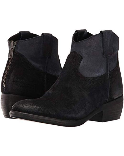 301051ec2 Lyst - Steve Madden Midnite Ankle Bootie in Black - Save 58%