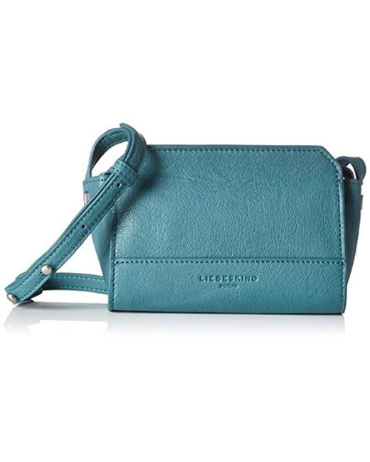 Liebeskind Berlin - Green Hollywood Double Dye Leather Structured Mini Crossbody - Lyst