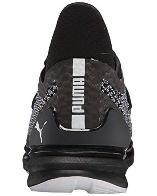 bb0e72b2790a ... PUMA - Black Ignite Limitless Netfit Multi Sneaker for Men - Lyst ...