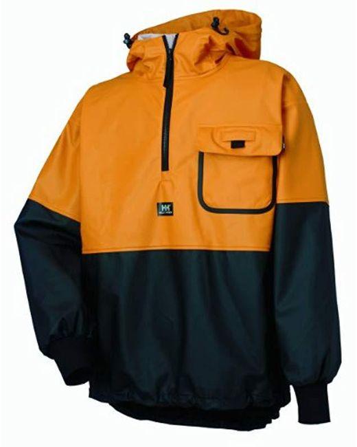 Helly Hansen - Orange Workwear Roan Rain And Fishing Anorak Jacket for Men - Lyst