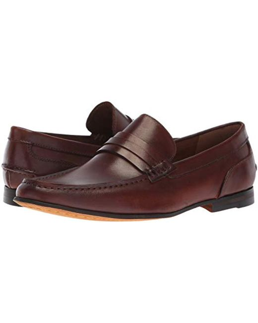 3a1ff7f95db Lyst - Kenneth Cole Reaction Crespo Loafer E in Brown for Men - Save 51%