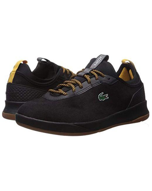 95f78c809810bf ... Lacoste - Black Lt Spirit 2.0 417 1 Sneaker for Men - Lyst ...