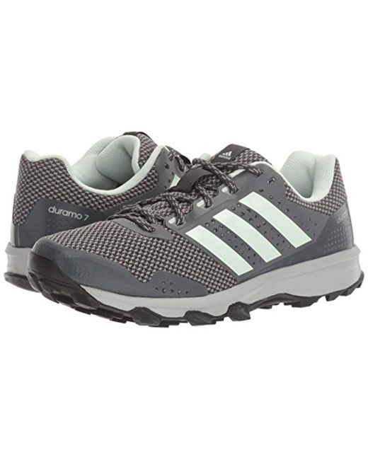 low priced 63562 0888c ... Adidas - Gray Performance Duramo 7 Trail W Running Shoe - Lyst ...