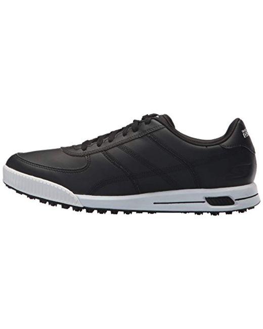 928f15f63b8e ... Skechers - Black Performance Go Golf Drive Classic Golf Shoe for Men -  Lyst ...