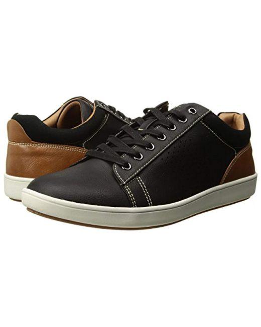 6ba399b3a0d ... Steve Madden - Black Fisk Fashion Sneaker for Men - Lyst ...