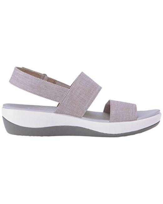 d823a6ea273a01 ... Clarks - Multicolor Arla Jacory Wedge Sandal - Lyst ...