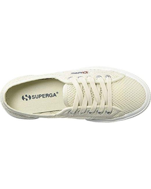 2aab48fa1dafd Superga 2750 Meshu Sneaker in White - Lyst