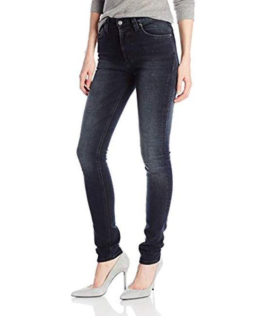 Nudie Jeans - Black High Kai Jean - Lyst
